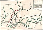 1924 map of the BMT Dual Contracts lines