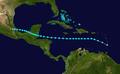 1931 Atlantic tropical storm 3 track.png