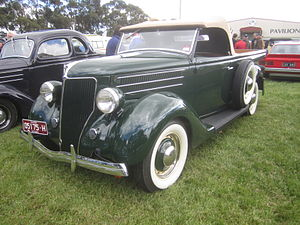 Roadster utility - Image: 1936 Ford Model 48 Roadster Utility
