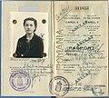 1940 passport annotation signed by Constantin Karadja, Berlin.jpg
