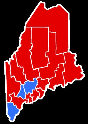 Maine gubernatorial election, 1960 - Image: 1960Maine Gubernatorial copy