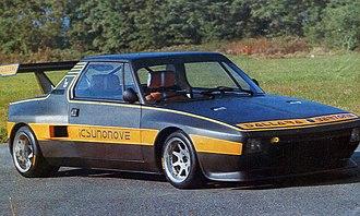 Fiat X1/9 - 1975 Dallara Icsunonove