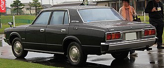 Toyota Crown - Toyota Crown Super Deluxe in Japan.