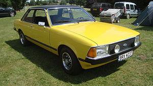 Ford Granada (Europe) - 1979 Ford Granada L two-door saloon (Mk II)