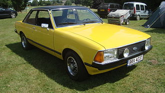 Ford Granada (Europe) - 1979 Ford Granada L two-door saloon (Mk II)