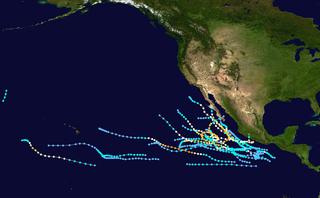 1984 Pacific hurricane season hurricane season in the Pacific Ocean