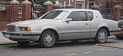 Mercury Cougar (1985–1986)
