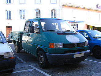 Volkswagen Transporter (T4) - LWB short-nosed Double cab Pickup (aka Doka)