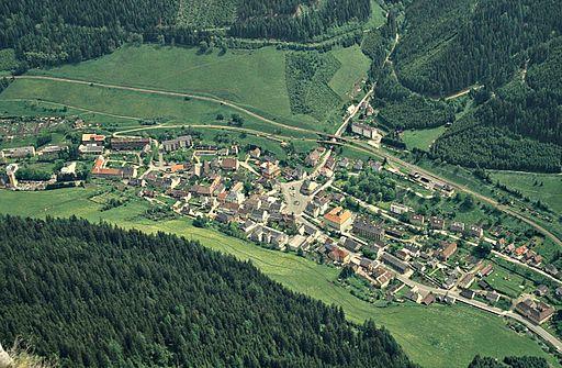 1994 083-2 Tiefblick nach Vordernberg