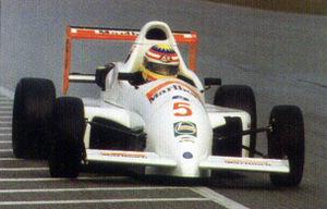 Alex Yoong - Alex Yoong racing in Formula Asia 2000 in Zhuhai.