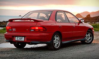Subaru Impreza - 1995 Subaru Impreza WRX (GC8C)