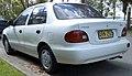 1996 Hyundai Excel (X3) Classique sedan (2009-04-09).jpg