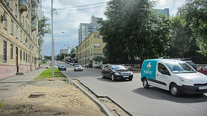 How to get to 1-Й Нагатинский Проезд with public transit - About the place