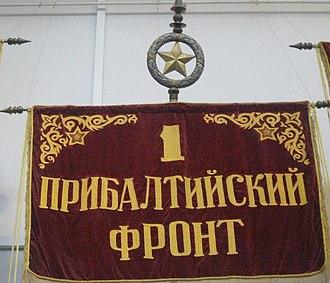 1st Baltic Front - Image: 1szy nadbałtycki