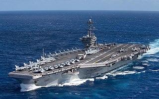 USS <i>Theodore Roosevelt</i> (CVN-71) Nimitz-class aircraft carrier