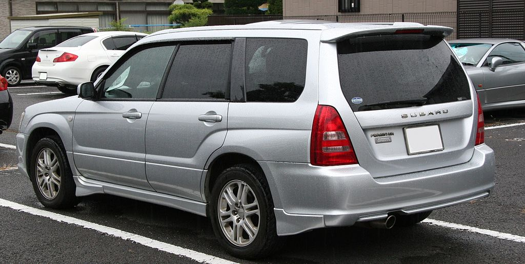 File2002 2005 Subaru Forester Cross Sports Rearg Wikimedia Commons