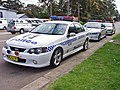 2005 Ford BA Mk II Falcon XR8 & 2004 Holden VZ Commodore SS - NSW Police (5497926383).jpg