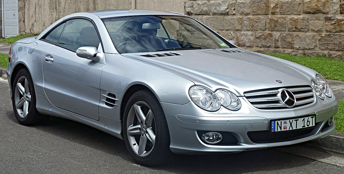 Mercedes benz sl class r230 wikipedia for 2006 mercedes benz sl500