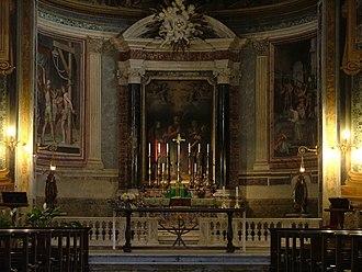 San Vitale, Rome - Inside