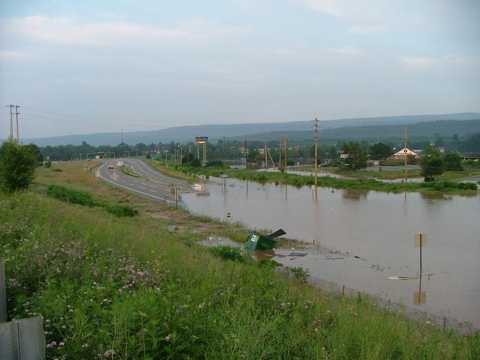 2006 flood Westfall PA