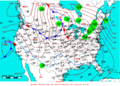 2007-01-26 Surface Weather Map NOAA.png