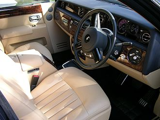 Rolls-Royce Phantom (2003) - Interior (Series I)