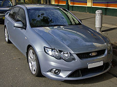Ford FG Falcon XR8 sedan z 2008 roku