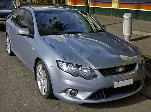 2008 Ford FG Falcon XR8
