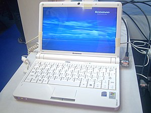 2008 Taipei IT Month Day2 Lenovo Ideapad S10.jpg