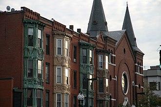 Columbus Avenue (Boston) - Image: 2009 Columbus Ave Boston Massachusetts 4074463202