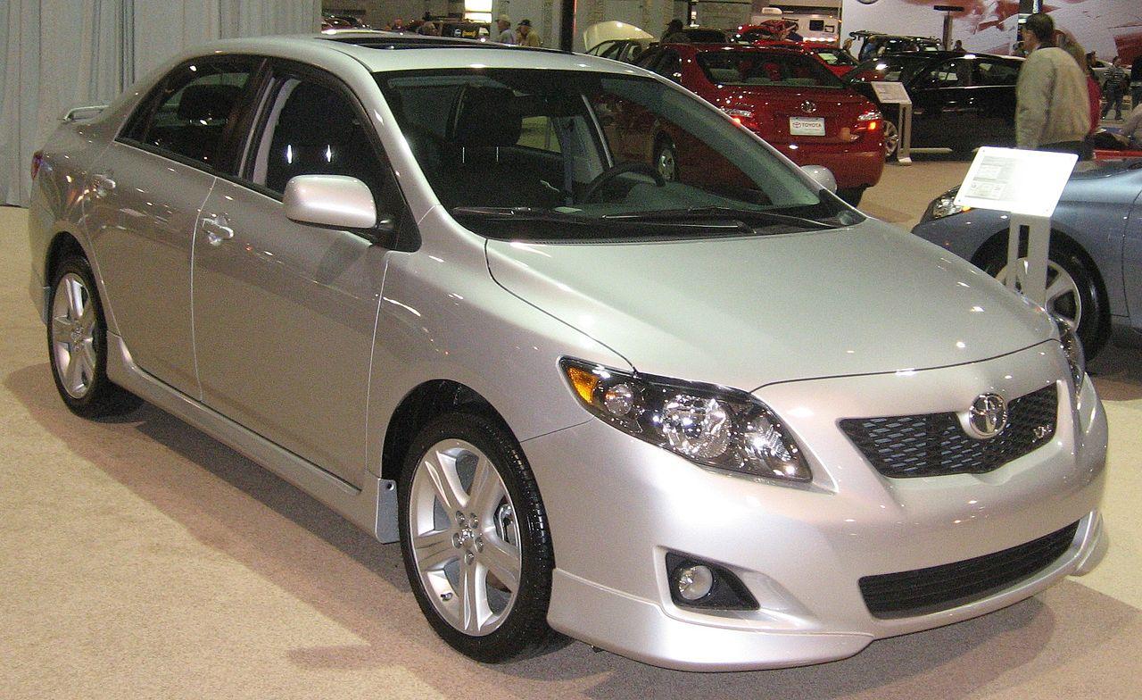 File:2009 Toyota Corolla XRS DC.JPG - Wikimedia Commons