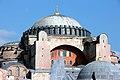 2010 Basilica de Santa Sofia (532-537), Istambul (Exterior de la cúpula).jpg