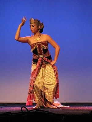 Kemben - Srimpi dancer wear velvet kemben.