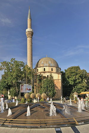 Islam in the Republic of Macedonia - Image: 2011 Bitola, Meczet Jeni 01