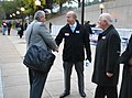 2012-11-05 Ben Cardin at Shady Grove Metro 102 a (8165646159).jpg