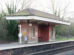 2012 at Mortimer station - down platform.JPG