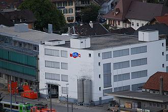Langnau im Emmental - Emmi AG factory in Langnau