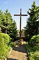 20130707 24732 NEFCr=Łomnica - drewniany kosciół z 1770 r krzyż misyjny.jpg