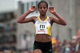 Genet Yalew Ethiopian long-distance runner