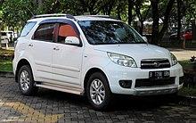 2013 Daihatsu Terios 15 TX Wagon F700RG First Facelift Indonesia