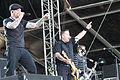 20140615-103-Nova Rock 2014-Dropkick Murphys-Al Barr and Ken Casey.JPG