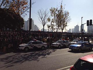 2014 Shanghai stampede stampede on The Bund waterfront, Shanghai on December 31, 2014