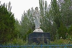 2015-09-11-080312 - Upal, Mausoleum des Uigurischen Philologen Muhamad Al Kashgari.JPG