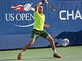 2015 US Open Tennis - Qualies - Guilherme Clezar (BRA) def. Nicolas Almagro (ESP) (12) (20529710224).jpg