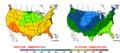 2016-04-22 Color Max-min Temperature Map NOAA.png