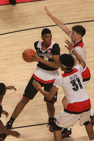 Tony Bradley (basketball) - Bradley in the 2016 McDonald's All-American Boys Game