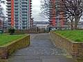 2016 Woolwich, St Mary's Gardens 17.jpg