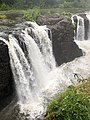 2018-07-25 08 26 59 View of the Great Falls of the Passaic River from the edge of the gorge immediately downstream of the falls, within Paterson Great Falls National Historical Park in Paterson, Passaic County, New Jersey.jpg