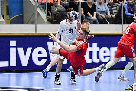 20180105 Men's handball Austria - Czechia Wilhelm Jelinek 850 9292.jpg