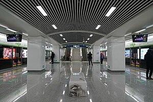 水澄桥站站台